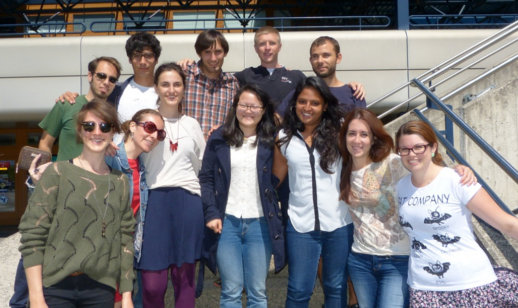 Group shot taken in Lausanne, Switzerland for course taken August 18-22, 2014.