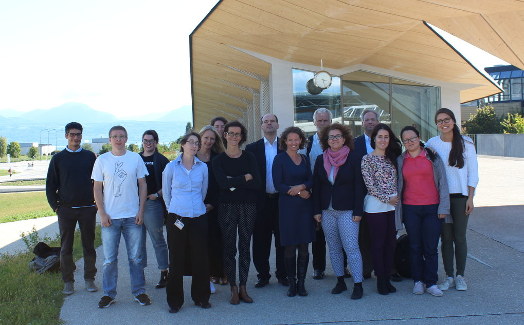 The final FINON meeting took place at EPFL in Lausanne, Switzerland from September 20-21, 2017. ESRs, PIs, associated partners, and our EU Project Officer attended. ESRs presented their work and a special talk was held by guest speaker John Antonakis of Université de Lausanne.